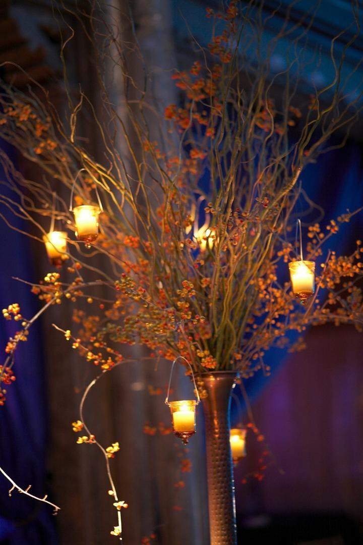reception d cor photos branch candles centerpiece inside weddings rh insideweddings com
