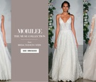 The dresses were inspired by brides who have worn Morilee gowns.