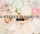 Bridal bouquets in shades of pink wedding bouquet ideas