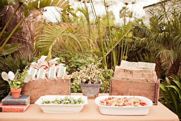 An Outdoor Bridal Shower Filled with Love and Laughter ...