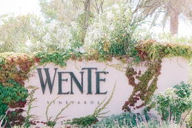 Entrance to Wente Vineyards in Livermore Valley Wine Country, CA