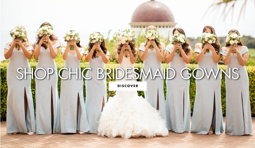 shop chic bridesmaid gowns bridesmaid dress ideas to shop for online
