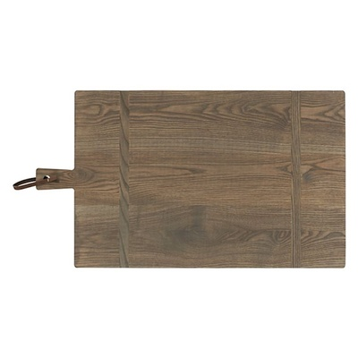 Wood cutting board with handle wedding gift idea
