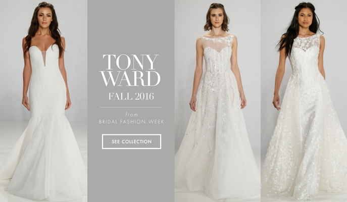 Tony Ward for Kleinfeld Bridal Fall 2016 wedding dresses bridal gown collection
