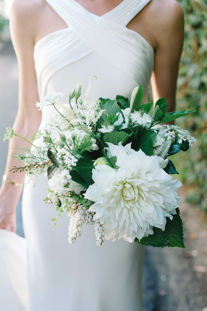 Bouquets Photos Simple Bouquet Of Ivory Flowers Greenery Inside