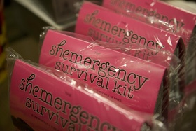 Bridesmaid gifts wedding survival kit