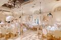 "r&b singer durrell ""tank"" babbs & zena foster wedding, ivory and gold reception decor"