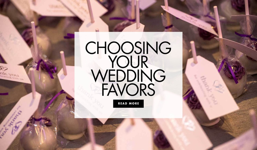 Choosing your wedding favors how to choose a wedding favor
