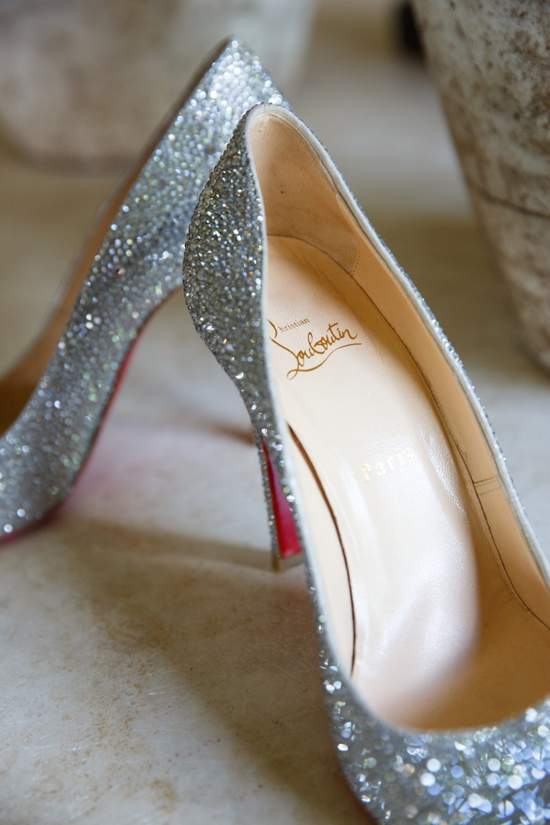 superior quality 5215e f90ea Shoes & Bags Photos - Sparkling Crystal Louboutin Pumps ...