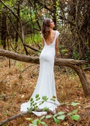 Isabelle Armstrong Fall 2015 Izzy Wedding Dress Back View