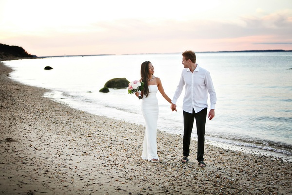 Beach Wedding in Montauk,NY