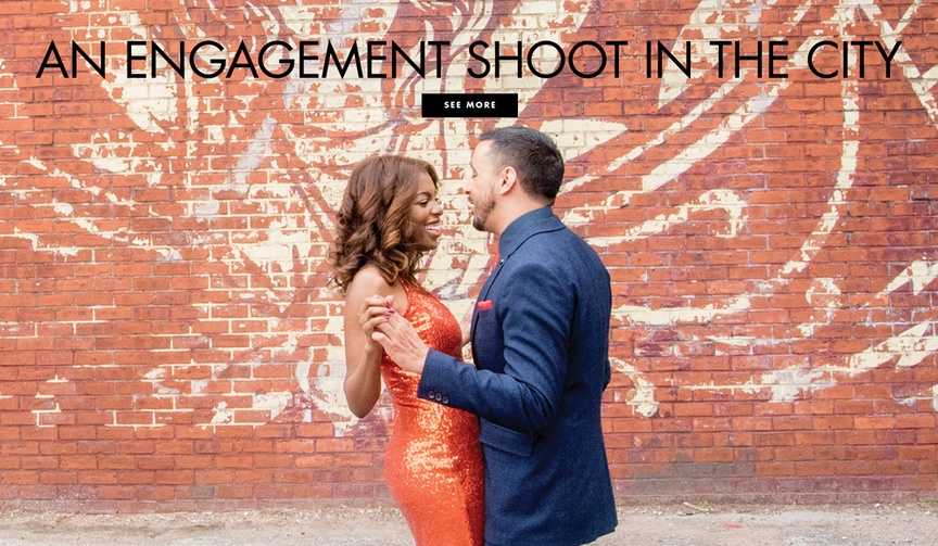 See more photos from an engagement shoot in New York City