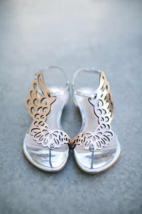 flat shoes with wing design sophia webster