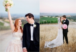 Sisters and DFW Events brides Leigh and Lindsey were married in back-to-back ceremonies in Paso Robl