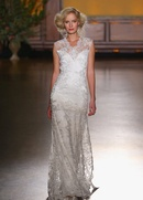 Modest Bijoux dress with embroidery by Claire Pettibone Gilded Age