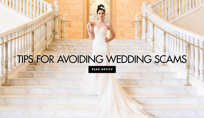 How to avoid bridal scams wedding dress scam tips to avoid