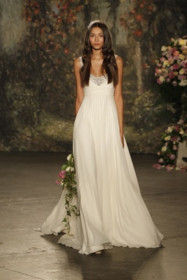 """empire waist """"ophelia"""" gown by jenny packham"""