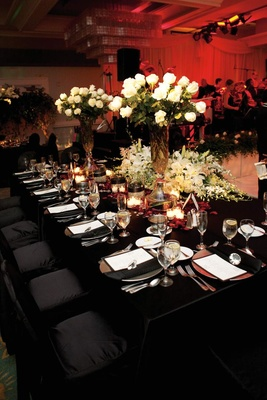 Romantic Red Wedding In San Diego California Inside