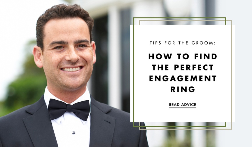 Jack Kelege shares tips on finding the perfect wedding ring