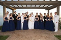 Blue bridesmaid dresses and Navy dress whites