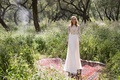 Limor Rosen 2017 Kylie wedding dress long sleeve beaded lace top chiffon skirt Birds of Paradise
