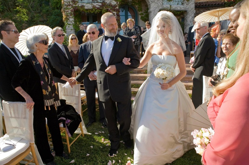 The Big Lebowski actor walking daughter down aisle