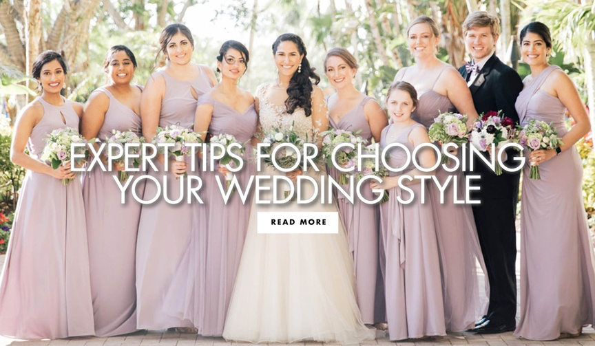 expert tips for choosing your wedding style wedding dress bridal gown