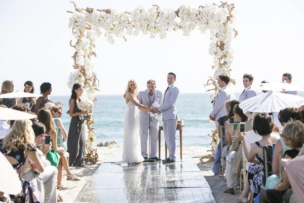 Elegant Summer Beach Wedding In Southern California