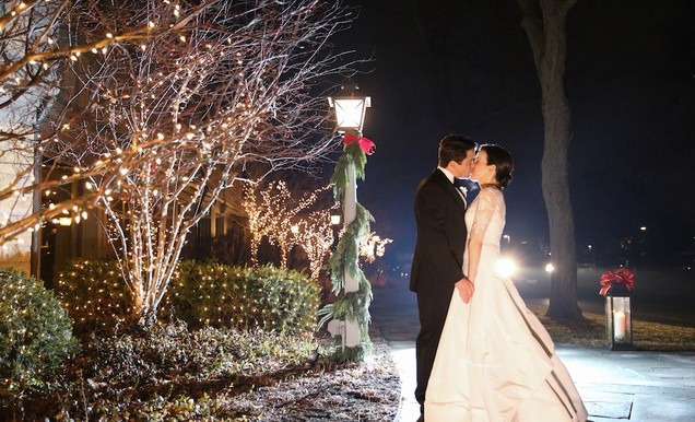 Christmas Theme Wedding With Festive Red Amp Green D 233 Cor In