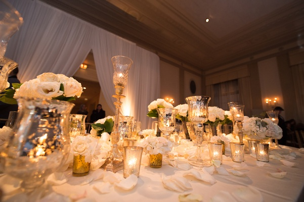 white and gold wedding decor wedding with classic ivory and gold d 233 cor in 1296