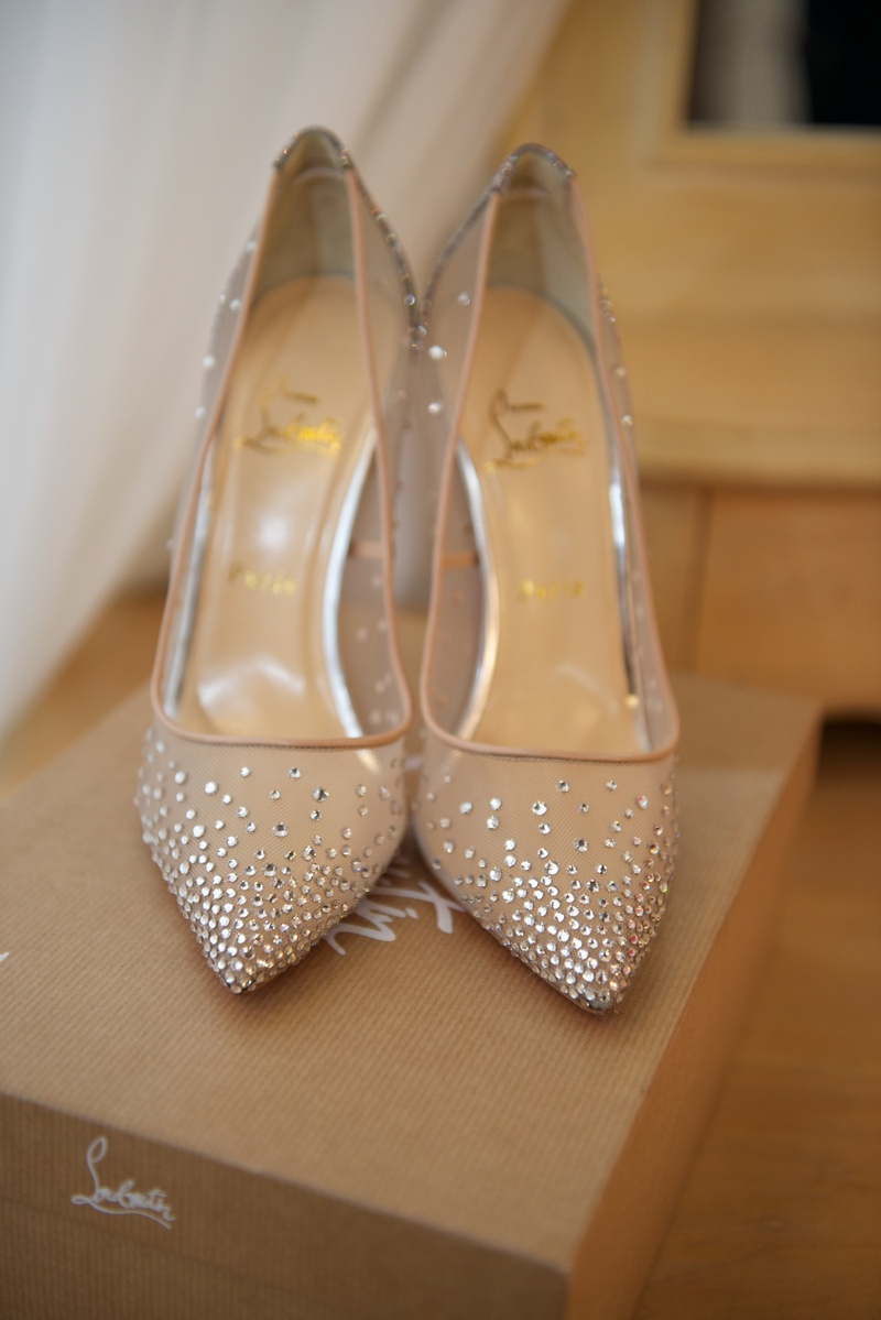 Shoes & Bags s Crystal Bridal Heels Inside Weddings