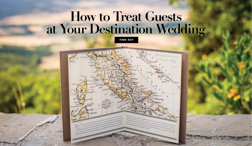 accommodating guests at a destination wedding