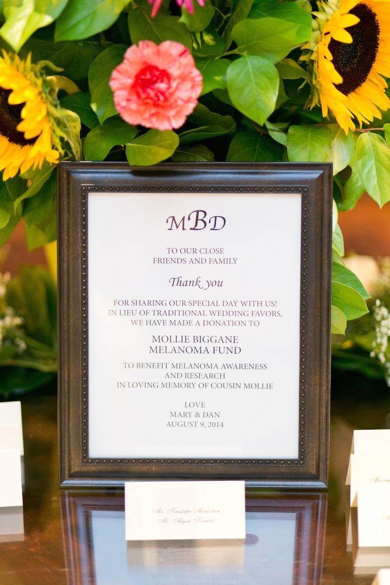 Favors & Gifts Photos - Charitable Wedding Favor - Inside Weddings
