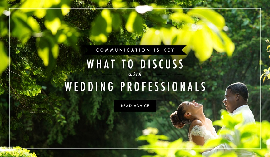 Debbie Geller explains how to communicate with wedding vendors