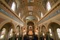 Renaissance-style cathedral décor