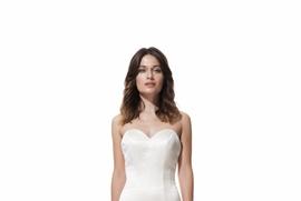 Seamed silk Allie dress by Olia Zavozina Classics