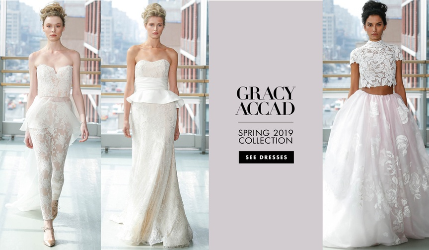 Gracy Accad spring 2019 bridal collection wedding dresses ballet inspiration
