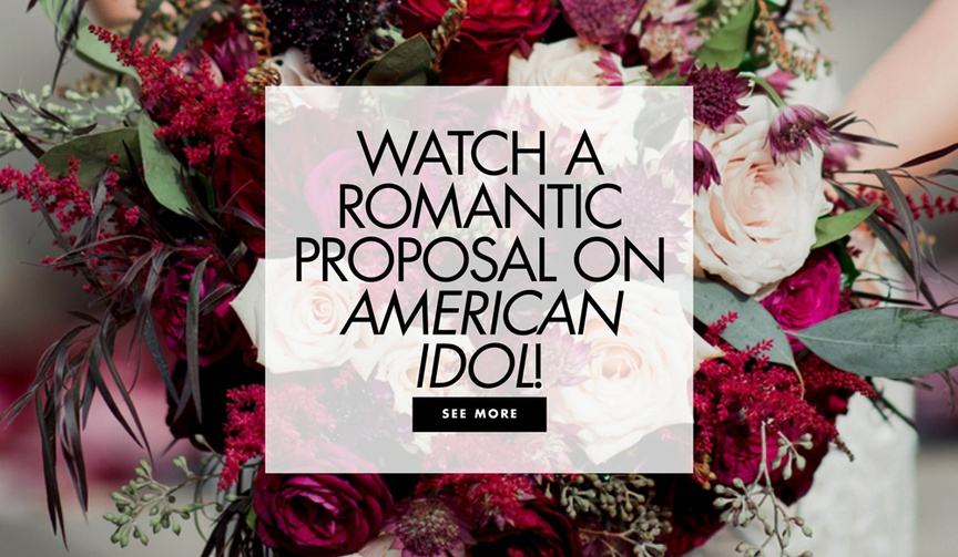 watch a romantic proposal on american idol during hollywood week auditions