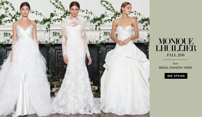 Blush Collection by Monique Lhuillier, Monique Lhuillier Fall 2018 Bridal Fashion Week