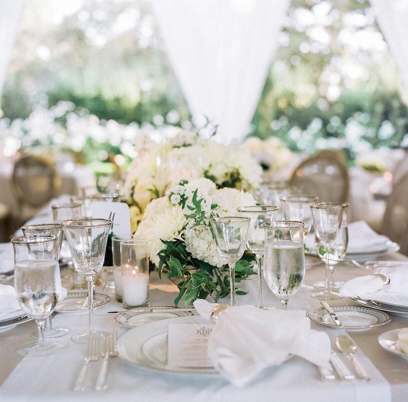 Reception Dcor Photos Classic Wedding Tablescape Inside Weddings