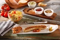 villeroy & boch passion line, elegant barbecue, platter and sauce bowls