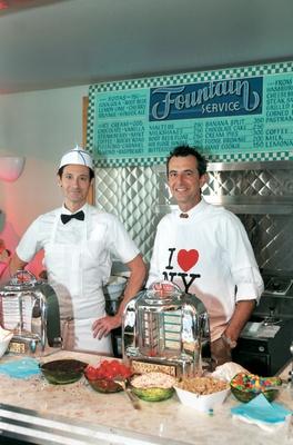 New York City inspired ice cream shop