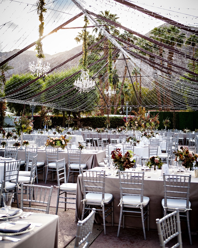 Reception Dcor Photos Chandeliers Suspended From Tent Of Lights