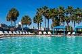 Pool with View of Savannah Skyline & Savannah River