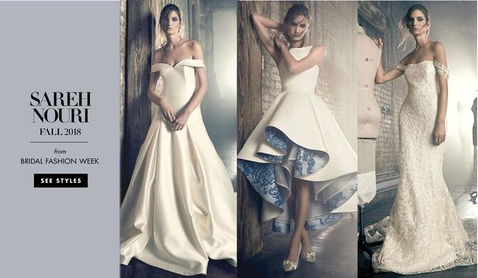 Sareh Nouri Fall 2018 wedding dresses bridal gowns