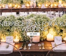 Centerpiece ideas for a rustic wedding reception ideas rustic centerpiece