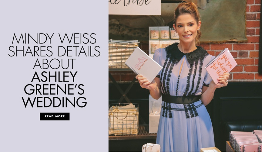 The planner and the actress hosted the launch party for The Wedding Shop by Shutterfly.
