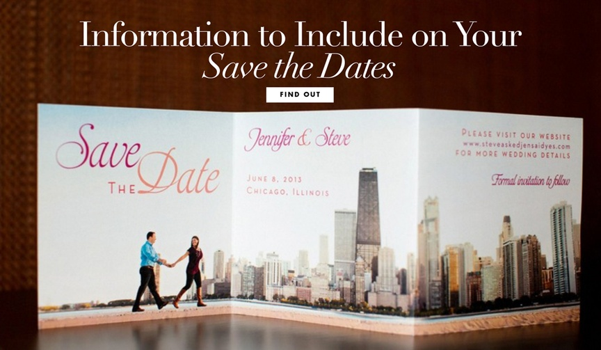 Save the date information what to include wedding invitation tips