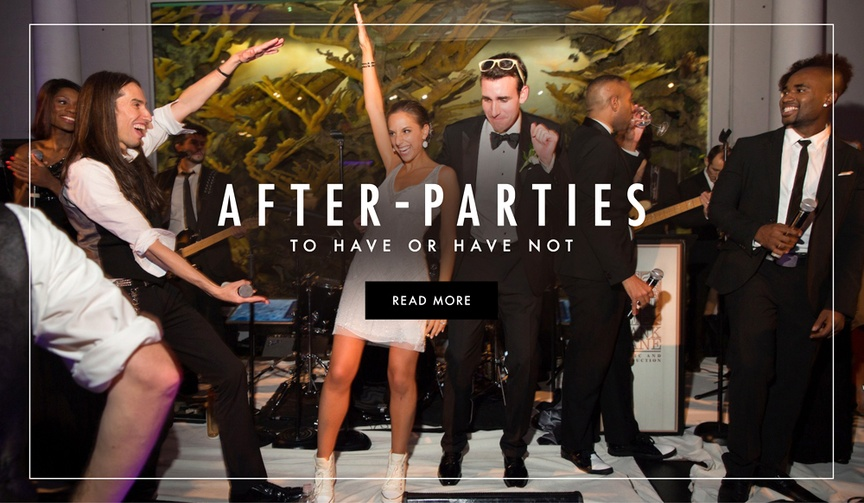 After-party tips and advice for wedding planning
