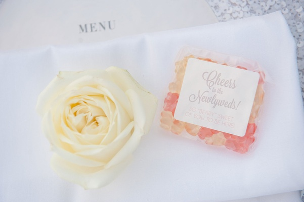 sugarfina gummy bears as wedding favors